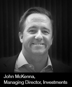 John McKenna, Managing Director, Investments