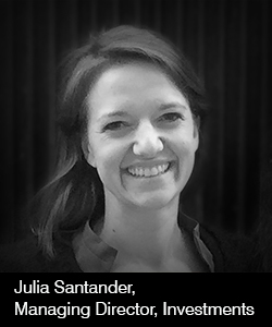 Julia Santander, Managing Director, Investments