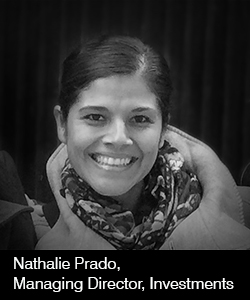 Nathalie Prado, Managing Director, Investments
